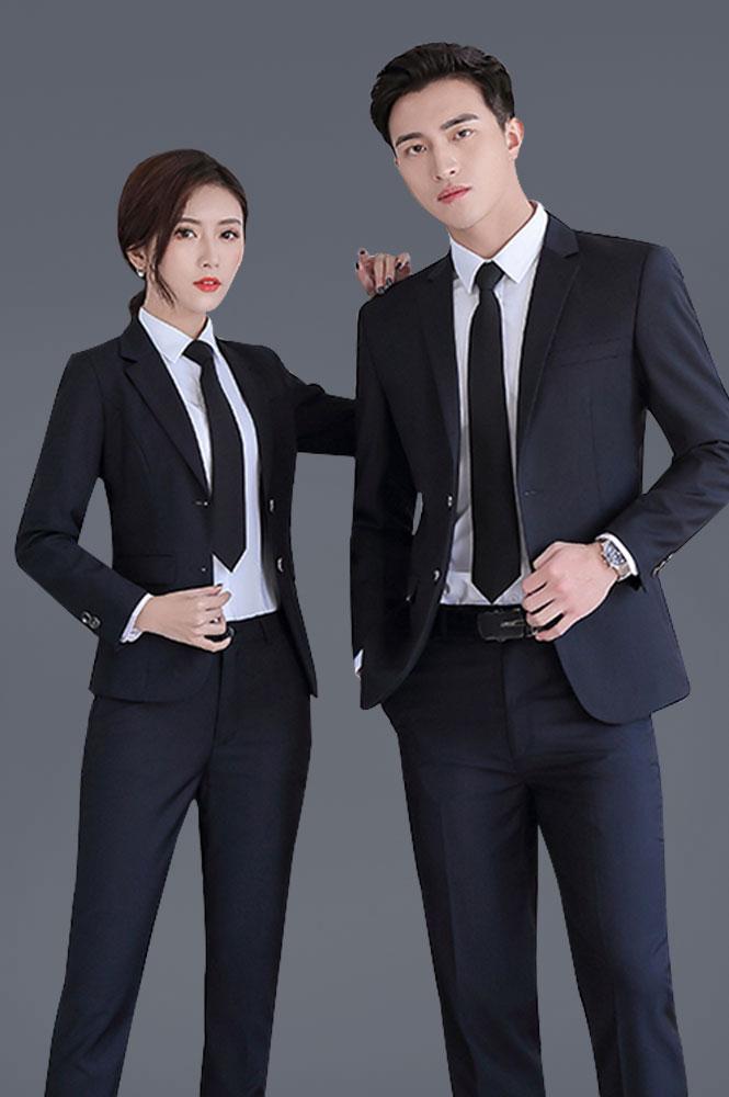 男女同款修身高端商务西装