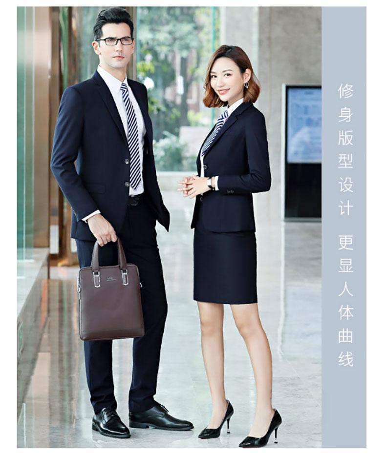 深圳团体西服定制模特展示图