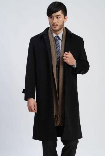 冬季男士西装搭配建议