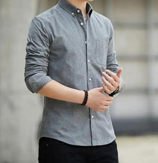 牛津纺衬衫