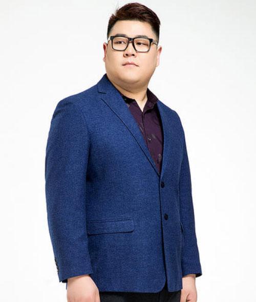 微胖男士定制西装