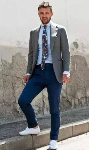 男士西装搭配