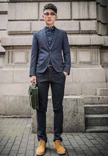 男士西装搭配休闲裤