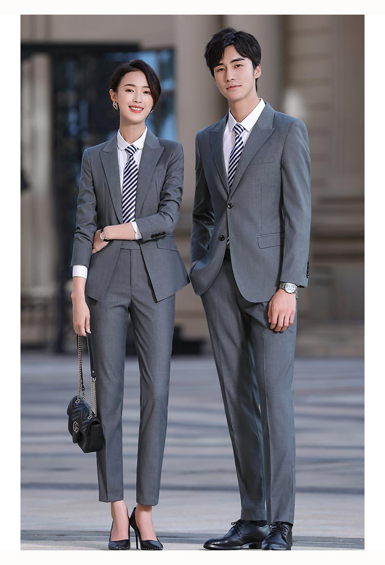 企事业单位定制西装款式图片