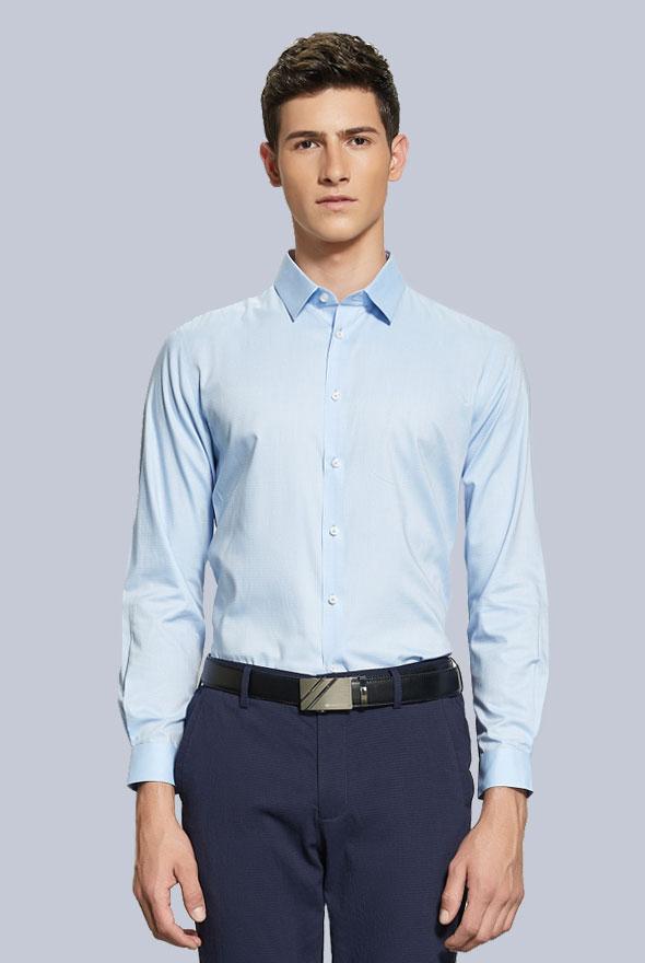 男士定制衬衫图片