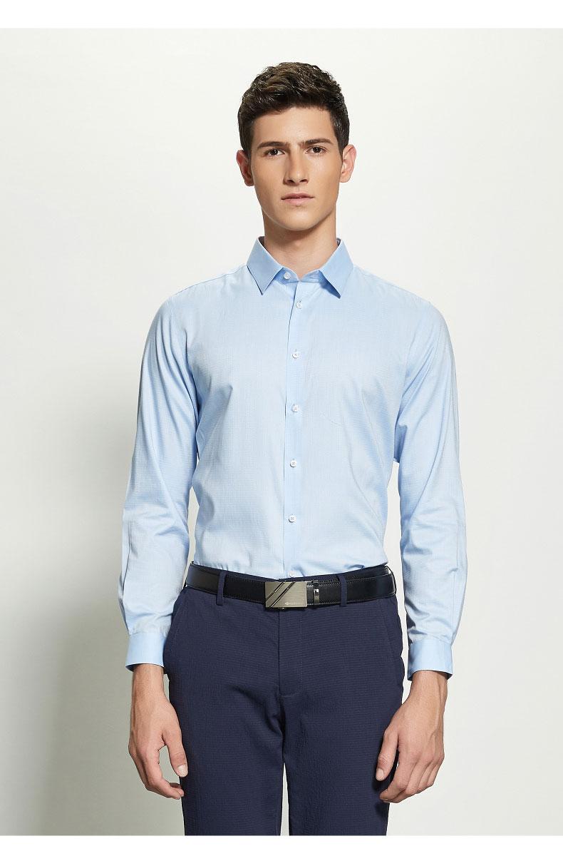 男士定制职业衬衫图片