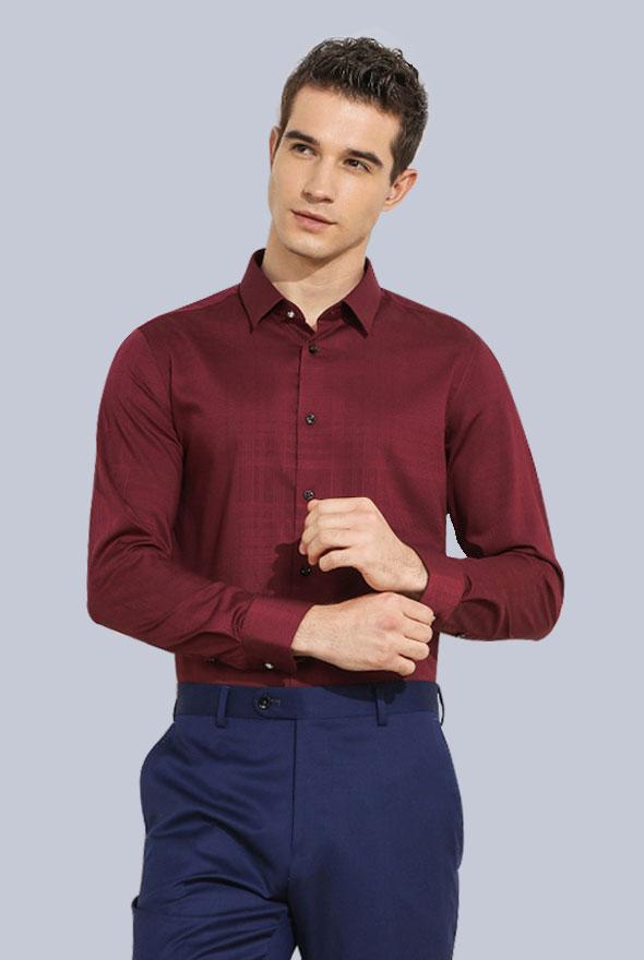 男士商务正装衬衫