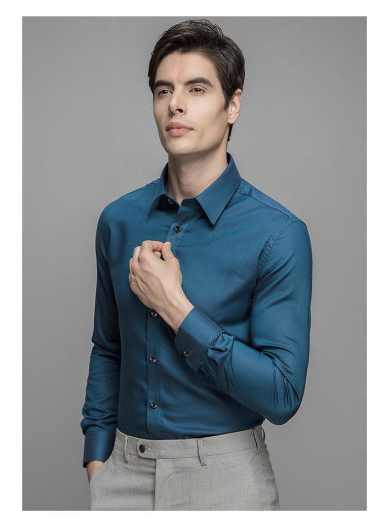 深圳定做高档衬衫款式图片展示