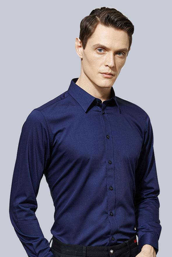 男高档衬衫长袖款