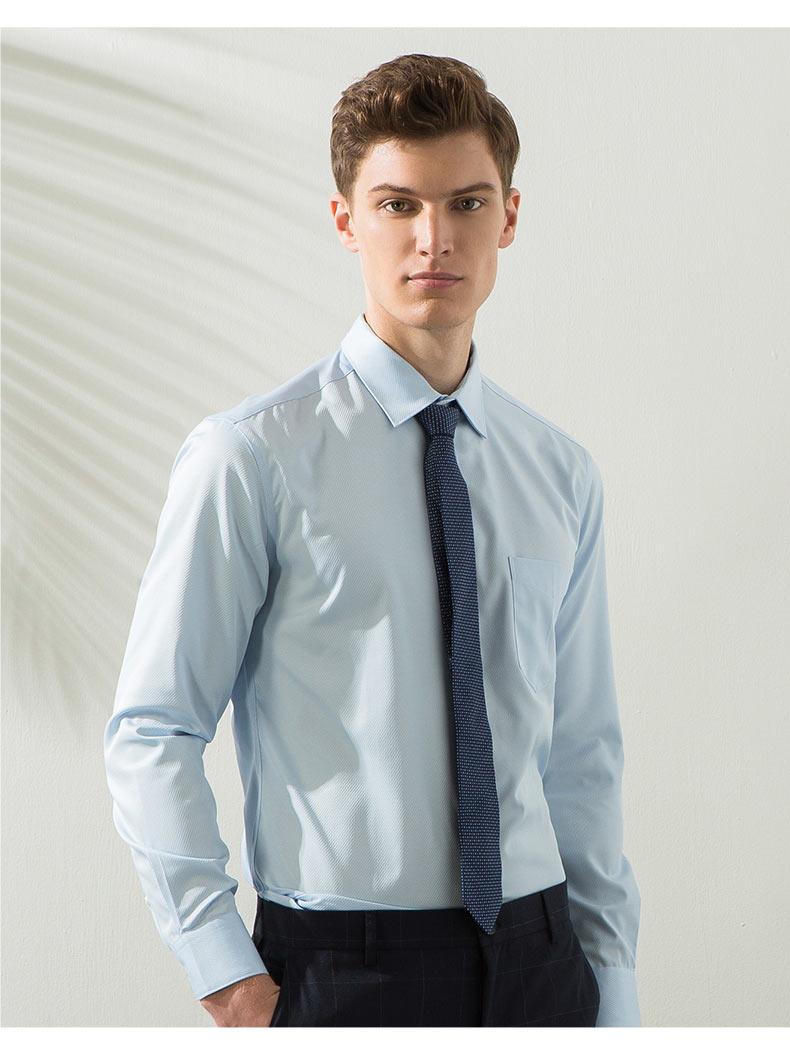 男款高档衬衫定做模特图