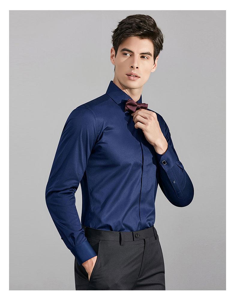 男士婚礼衬衫定制款式图片