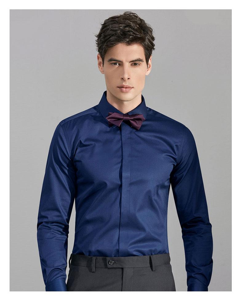 男士婚礼衬衫定制模特图