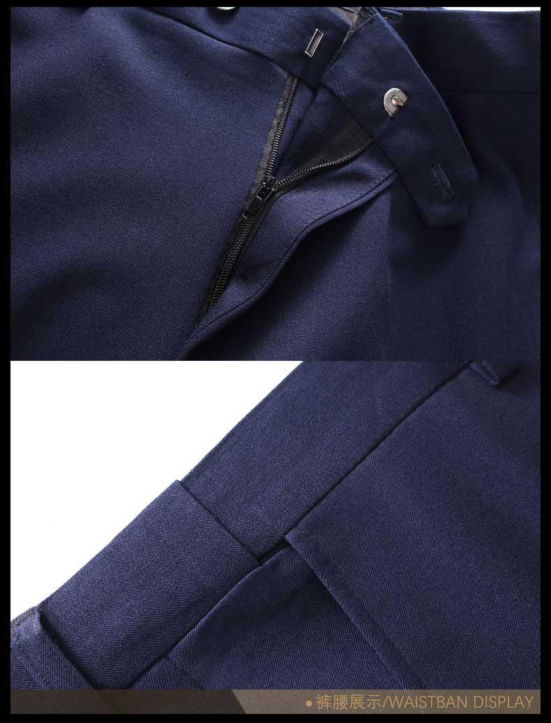 男士西装裤子细节展示